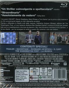 The Post. Con Steelbook (Blu-ray) di Steven Spielberg - Blu-ray - 2