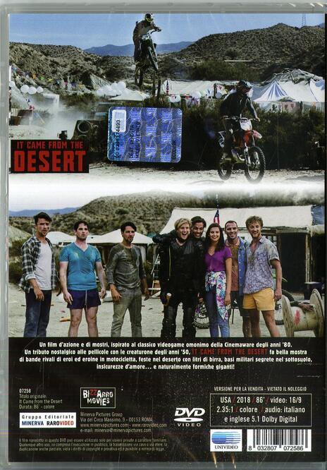 It Came from the Desert (DVD) di Mark Arnold,Vanessa Grasse,Claudia Trujillo - DVD - 2