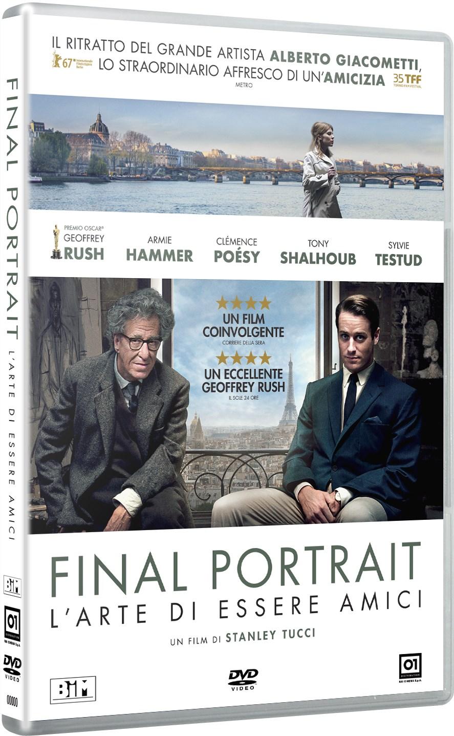 Cover Dvd DVD Final Portrait - L'Arte di essere Amici