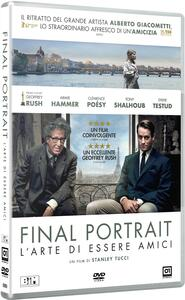 Final Portrait. L'arte di essere amici (DVD) di Stanley Tucci - DVD