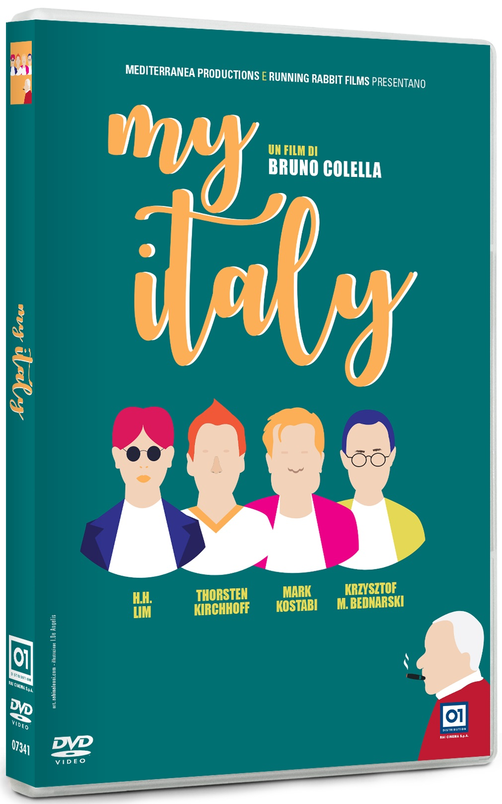 Cover Dvd DVD My Italy