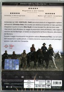 Hostiles. Ostili (DVD) di Scott Cooper - DVD - 2