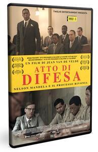 Atto di difesa. Nelson Mandela e il processo Rivonia (DVD) di Jean Van De Velde - DVD