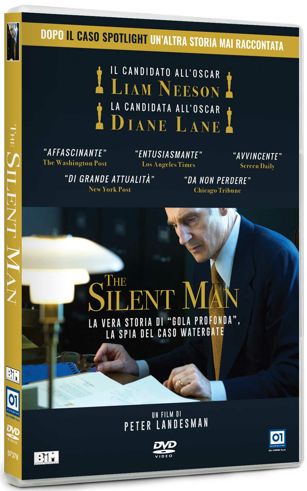 Cover Dvd DVD The Silent Man