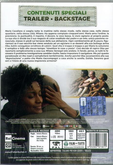Contromano (DVD) di Antonio Albanese - DVD - 2