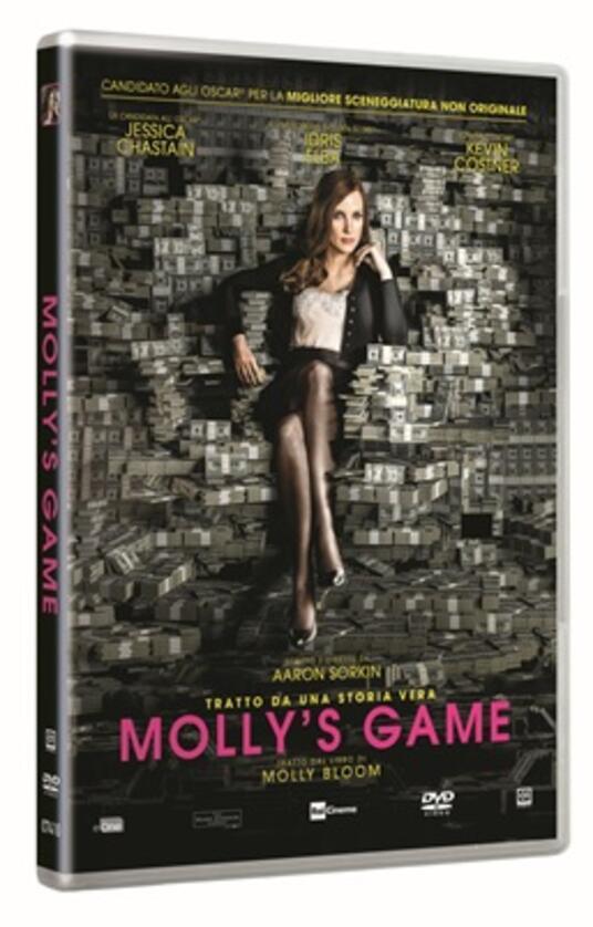 Molly's Game (DVD) di Aaron Sorkin - DVD