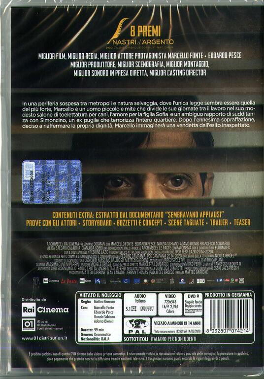 Dogman (DVD) di Matteo Garrone - DVD - 3