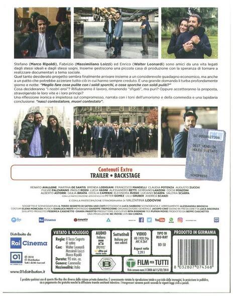 Si muore tutti democristiani (Blu-ray) di Il Terzo Segreto di Satira - Blu-ray - 2