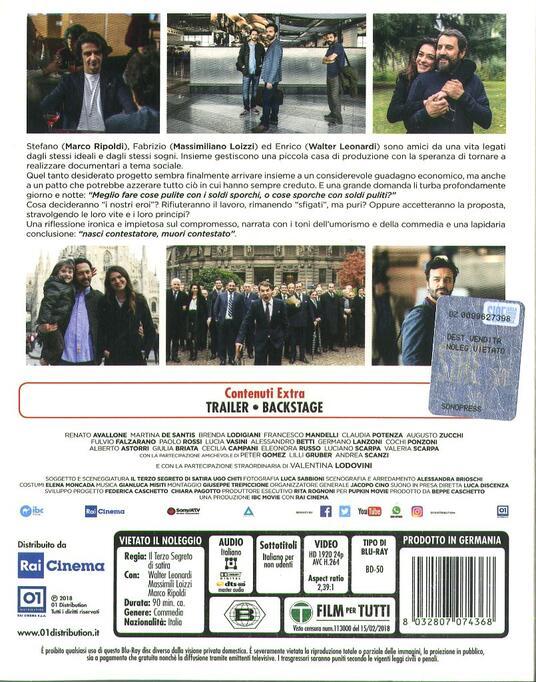 Si muore tutti democristiani (Blu-ray) di Il Terzo Segreto di Satira - Blu-ray - 3