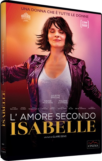 Cover Dvd DVD L'Amore secondo Isabelle
