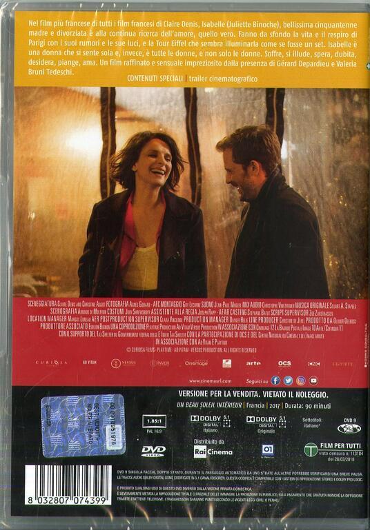 L' amore secondo Isabelle (DVD) di Claire Denis - DVD - 2