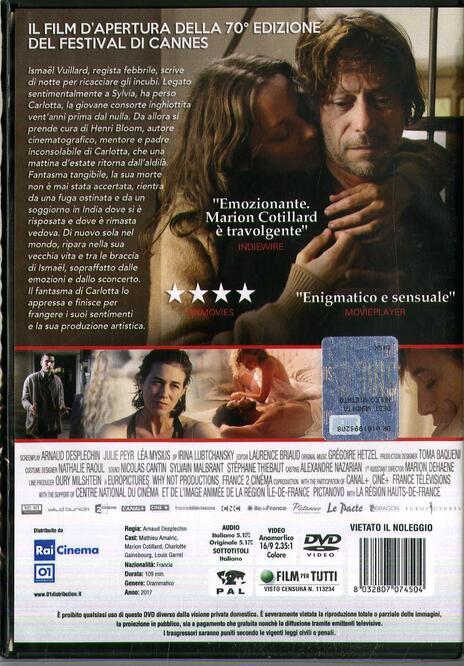I fantasmi di Ismael (DVD) di Arnaud Desplechin - DVD - 2
