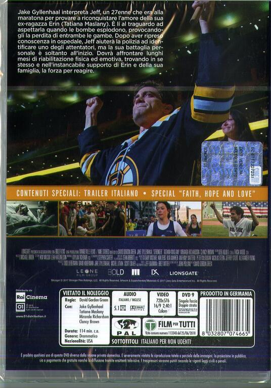 Stronger. Io sono più forte (DVD) di David Gordon Green - DVD - 2