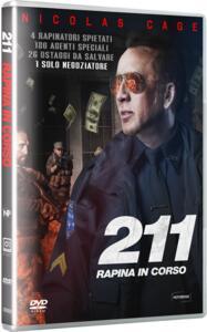 211 . Rapina in corso (DVD) di York Alec Shackleton - DVD