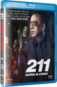 Cover Dvd 211 . Rapina in corso (Blu-ray)