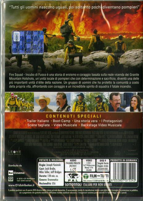 Fire Squad. Incubo di fuoco (DVD) di Joseph Kosinski - DVD - 2