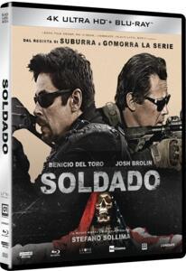 Soldado (Blu-ray + Blu-ray 4K Ultra HD) di Stefano Sollima - Blu-ray + Blu-ray Ultra HD 4K