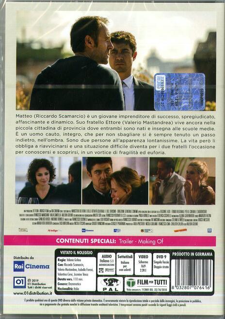 Euforia (DVD) di Valeria Golino - DVD  - 2