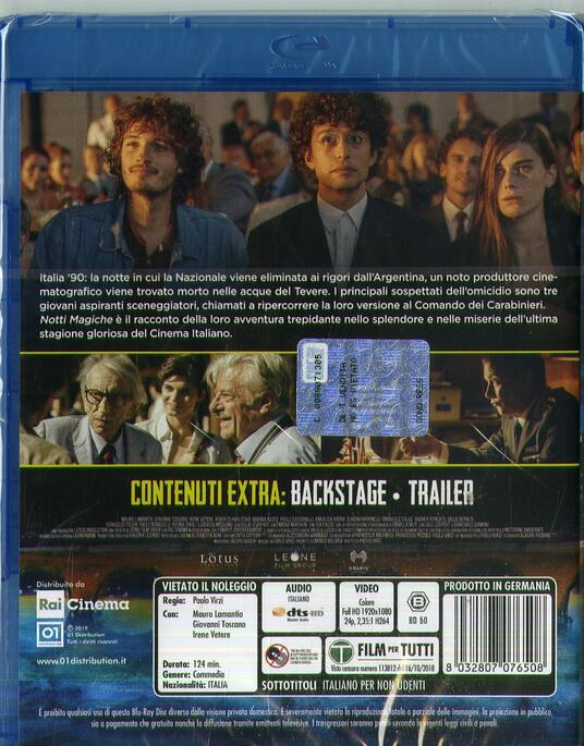 Notti magiche (Blu-ray) di Paolo Virzì - Blu-ray - 2