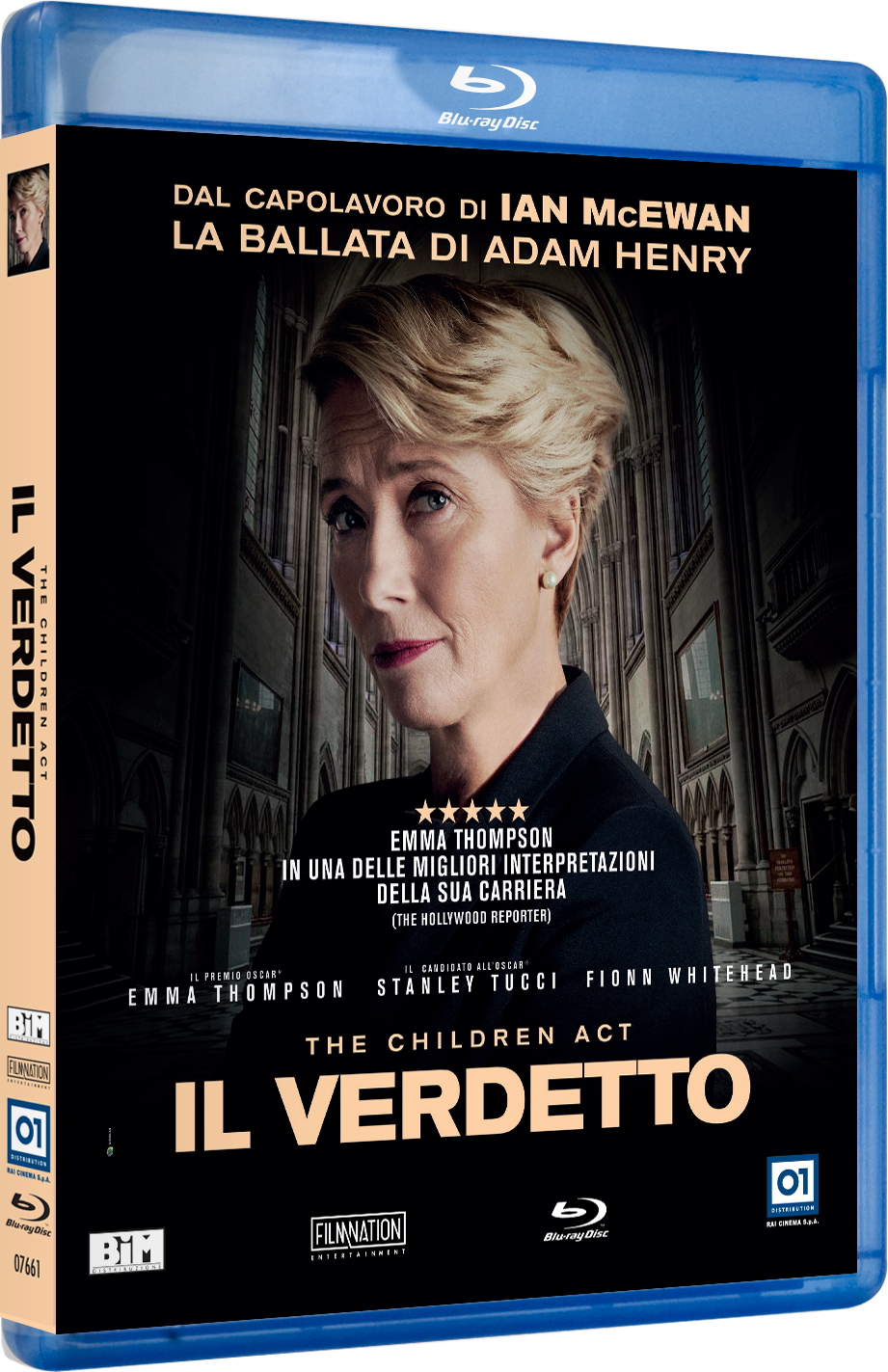 Cover Dvd DVD The Children Act - Il Verdetto