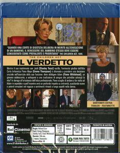 The Children Act. Il verdetto (Blu-ray) di Richard Eyre - Blu-ray - 2
