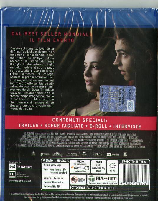 After (Blu-ray) di Jenny Gage - Blu-ray - 2