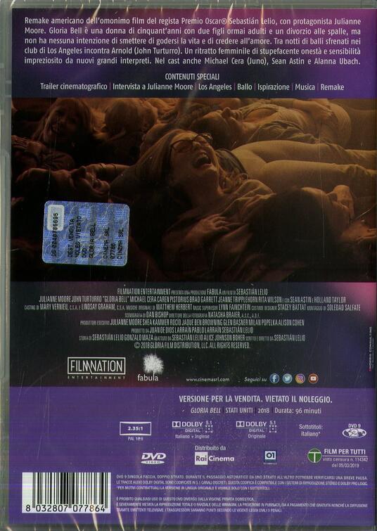 Gloria Bell (DVD) di Sebastián Lelio - DVD - 2