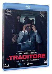 Cover Dvd Il traditore (Blu-ray )