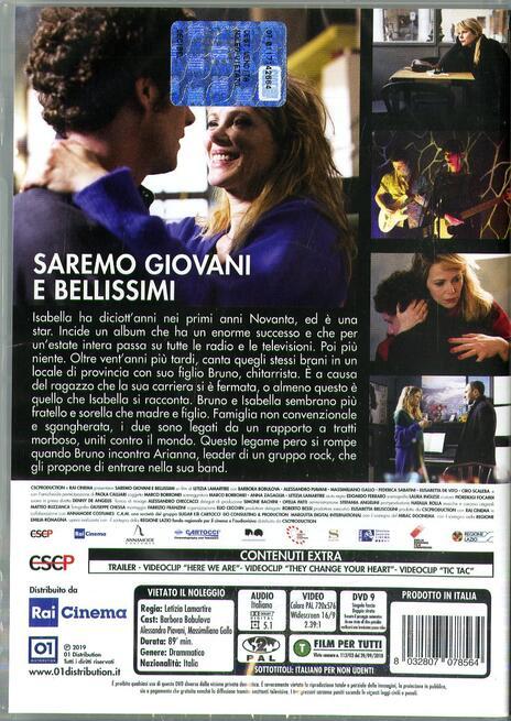 Saremo giovani e bellissimi (DVD) di Letizia Lamartire - DVD - 2