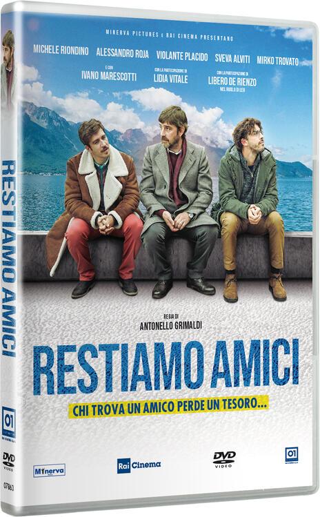 Restiamo amici (DVD) di Antonello Grimaldi - DVD