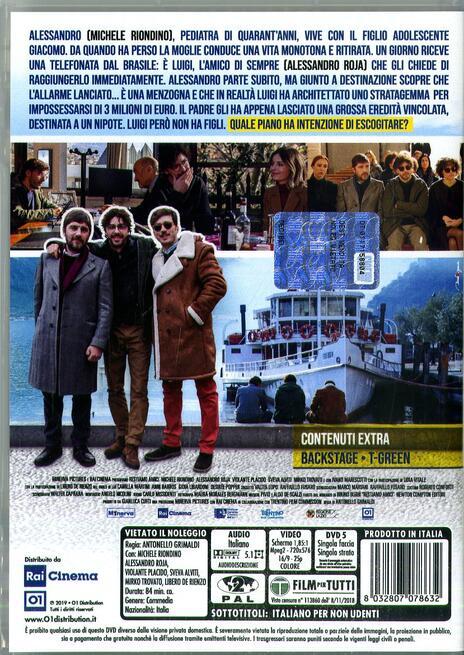 Restiamo amici (DVD) di Antonello Grimaldi - DVD  - 2