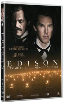 Edison. L'uomo che illuminò il mondo (DVD) di Alfonso Gomez-Rejon - DVD