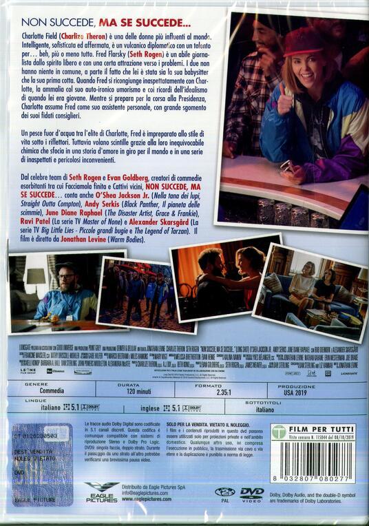 Non succede, ma se succede… (DVD) di Jonathan Levine - DVD - 2