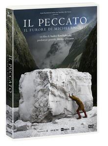 Il peccato. Il furore di Michelangelo (DVD) di Andrey Konchalovskiy - DVD