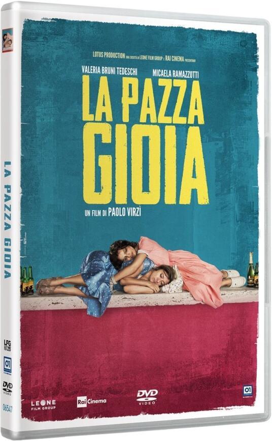 La pazza gioia (DVD) di Paolo Virzì - DVD