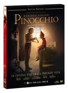 Film Pinocchio (DVD + Blu-ray) Matteo Garrone