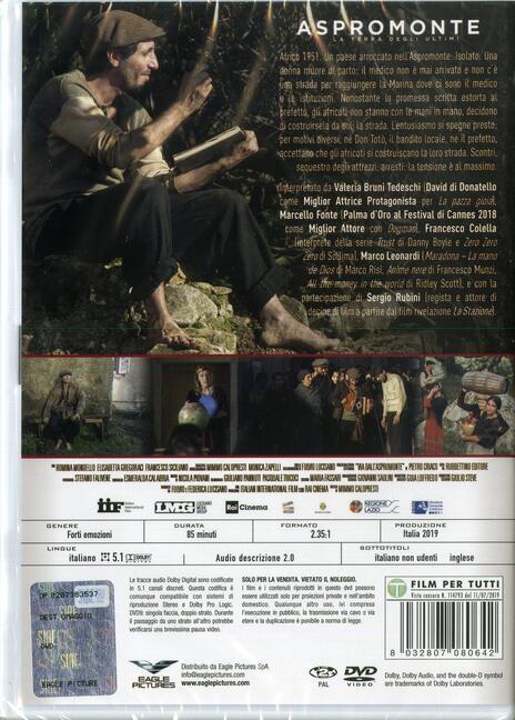 Aspromonte. La terra degli ultimi (DVD) di Mimmo Calopresti - DVD - 2