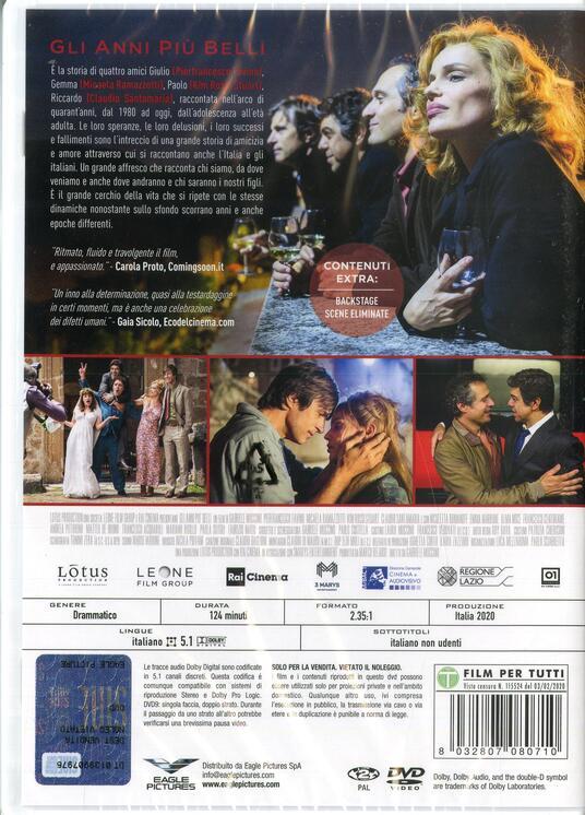 Gli anni più belli (DVD) di Gabriele Muccino - DVD - 2