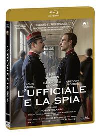 Cover Dvd L' ufficiale e la spia (Blu-ray)