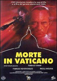 Locandina Morte in Vaticano