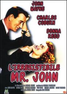 L' irresistibile Mr. John di Michael Curtiz - DVD