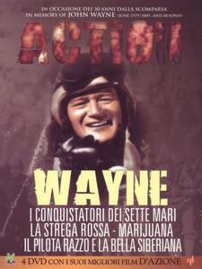 John Wayne. Action (4 DVD) di Edward Ludwig,Howard Lydecker,Joseph Von Sternberg