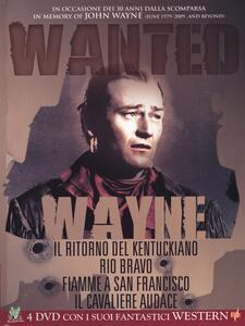 John Wayne. Wanted (4 DVD) di John Ford,Joseph Kane,George Waggner