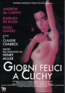 Giorni felici a Clichy di Claude Chabrol - DVD
