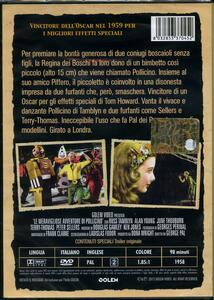 Le meravigliose avventure di Pollicino di George Pal - DVD - 2