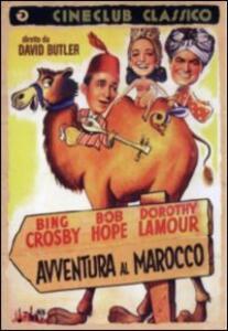 Avventura in Marocco di David Butler - DVD