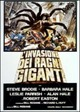 Cover Dvd DVD L'invasione dei ragni giganti