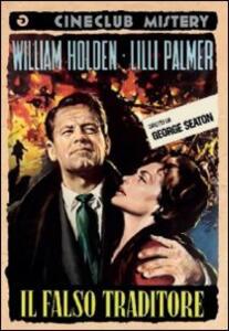 Il falso traditore di George Seaton - DVD
