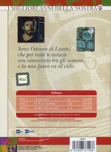 Odissea. Le avventure di Ulisse (3 DVD) di Franco Rossi,Mario Bava - DVD - 2