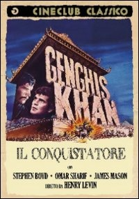 Cover Dvd Gengis Kan il conquistatore (DVD)